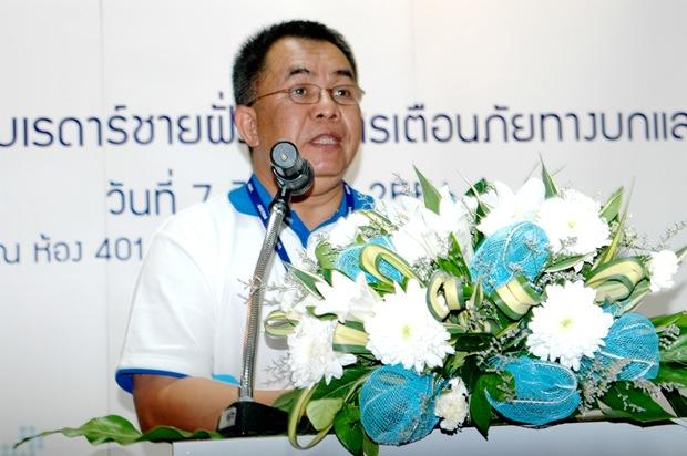 Dr. Chaowalit Silpathong, der Vizedirector von GISTDA.