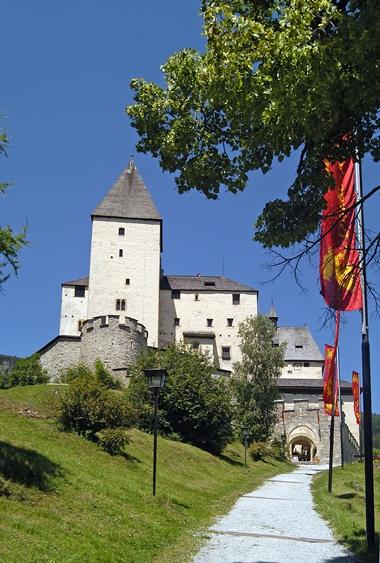 Mystische Burg Mauterndorf.