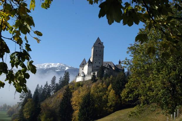 Im Schloss Moosham sollen heute noch Gespenster ihr Unwesen treiben.
