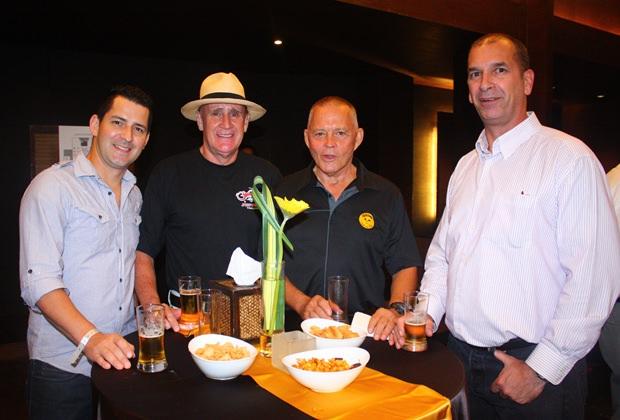 (Von links) Greg Freeman, Alan Whiteway, Bill Freeman und Jeff Paladeau.