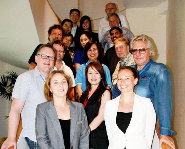 Die Teilnehmer der Reise.