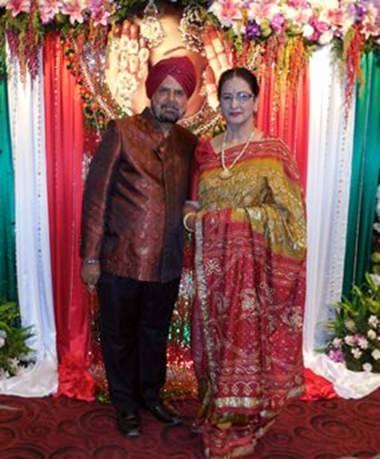 Frank und Vanita Sethi von Fashion King sind die Organisatoren des Festes.