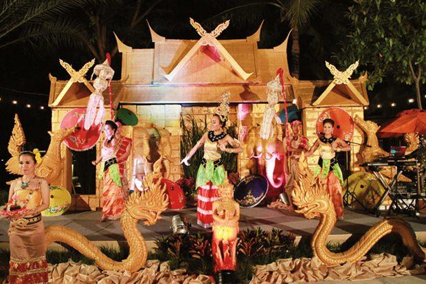Das Amari Orchid Pattaya zeigte tolle Shows.