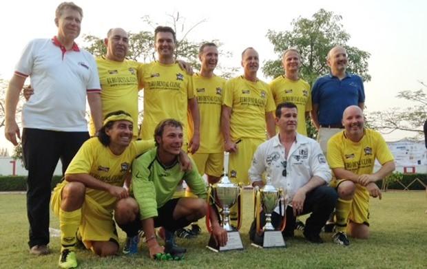 Das Siegerteam.
