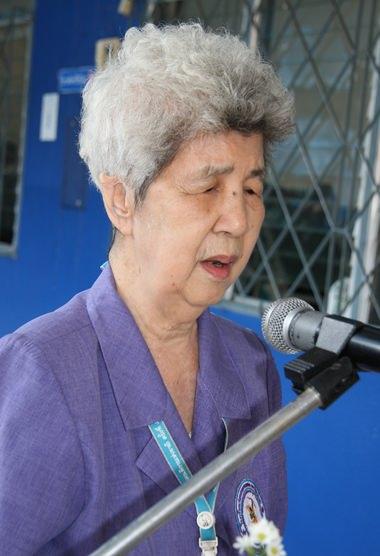 Direktorin Aurora Sribuaphan.