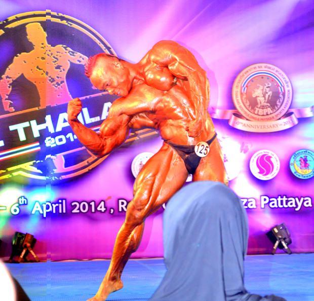 Der große Verlierer: Sawaeng Panapoi, der frührere Sieger in 2007 und 2008.