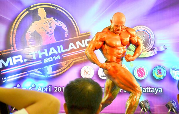 Phala Meechai vom T.C. Sport Gym & Fitn, konnte seinen Vorjahreserfolg nicht wiederholen.