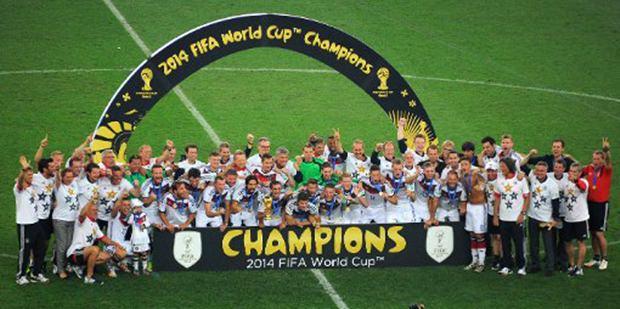 Die WM-Champions von 2014: Deutschland.