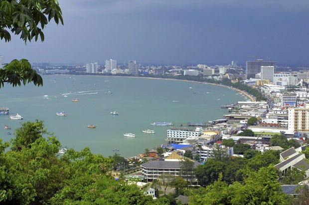 Pattaya vom Pratamnak Hügel aus. (Foto: TAT)