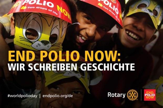 Ein Aufruf an die ganze Welt. (Foto: Rotary International)