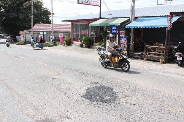 Nun is diese Straße auch repariert.