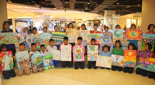 Über 50 Schüler nehmen an diesem Wettbewerb teil.