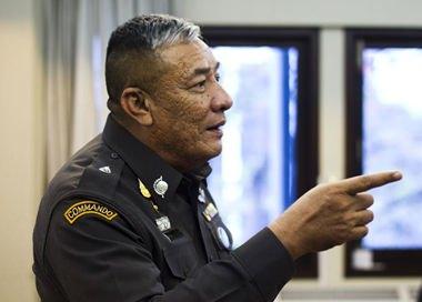 """Der """"gute Onkel"""", der ehemalige Polizeigeneral Pongpat Chayapong wurde als """"böser Bube"""" entlarvt."""