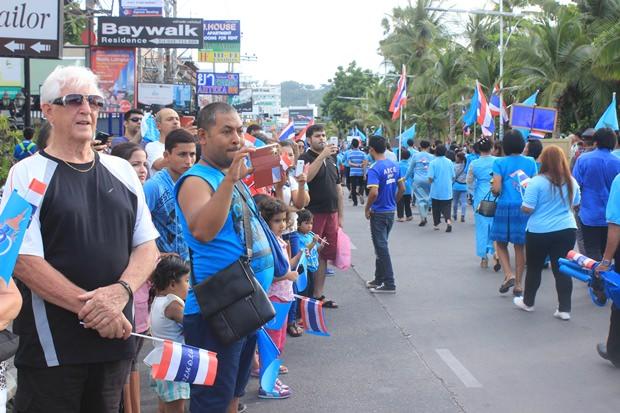 Viele Ausländer nehmen dieses Jahr an den Feierlichkeiten teil.