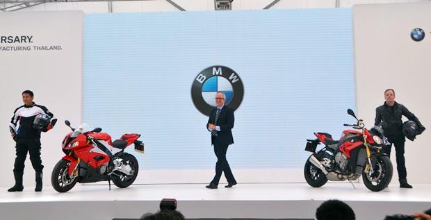 BMW S1000 R und BMW S1000 RR werden in Rayong zusammengestellt.