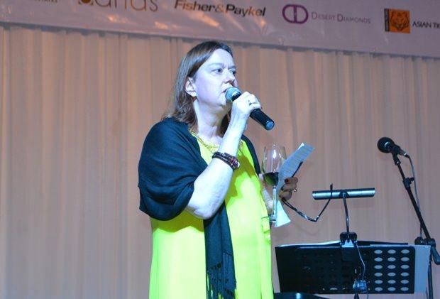 PILC Präsidentin Helle Rantsen bei ihrer Ansprache.