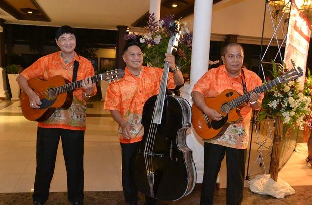 Das Thai Garden-Trio.