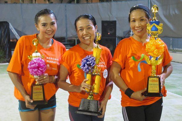 Die Gewinner von links: Tienjai Steiner, Suksawad Teekul und Nattakulporn Seungsarawat.