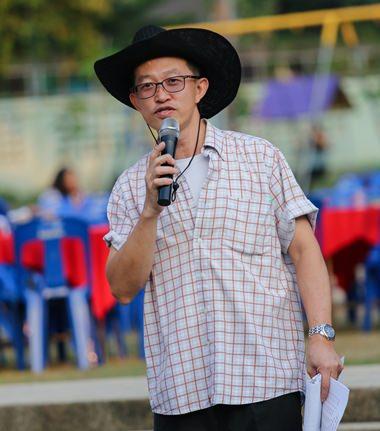 Khun Paul ist wie immer bei solchen Anlässen ein guter Zeremonienmeister.