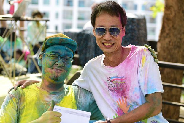 Jack aus japan im Rollstuhl bekam einen Extra Preis von Vuthikorn Kamolchote.
