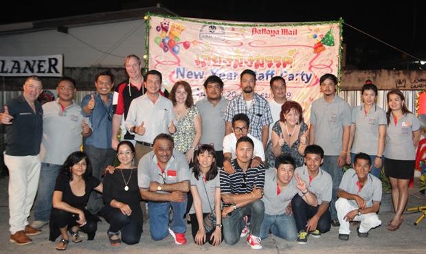 Das Pattaya Mail Media Gruppen-Team.