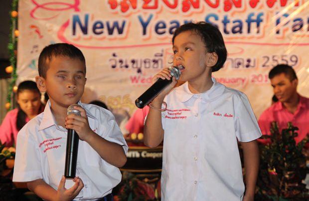 Die talentierten Kinder der Father Ray Foundation.