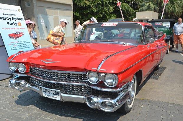 A 1957 Cadillac mit viel Metall