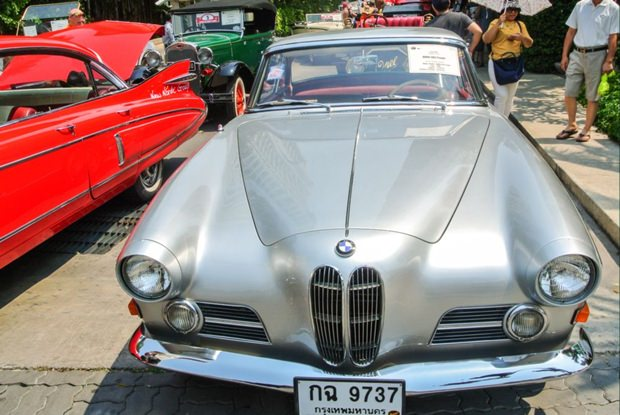 BMW 503, 1957