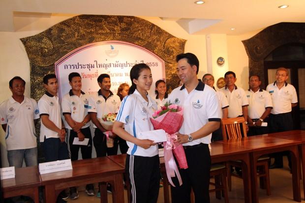 Ittipol Kunplome gratuliert den Teilnehmern an der Olympiade 2016 in Brasilien.