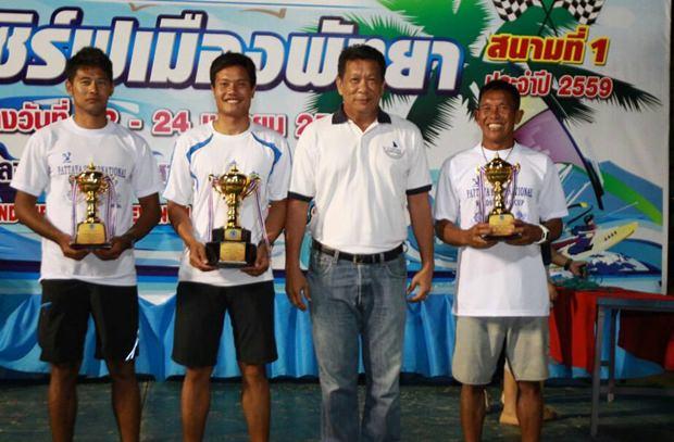 Die Sieger aller männlichen Wettbewerbe.