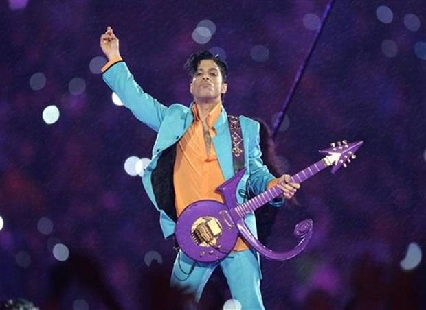 Prince wie er leibte und lebte. Möge er nun in Frieden ruhen. (AP Photo/Chris O'Meara, File)