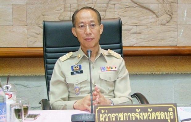 Chonburis Gouverneur Komsan Eakchai, gab die Bestellung der 12 neuen Stadträte Pattayas bekannt.