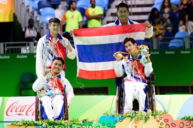 Gold und Silber für Thailand beim Boccia.