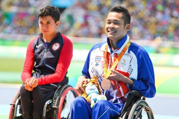 Pichaya Kurattanasir mit seiner Bronzemedaille.