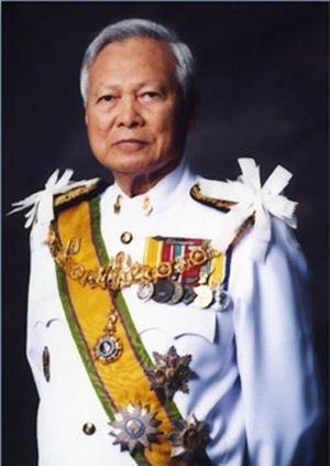 General Prem Tinsulanonda wird zum Regenten ernannt.