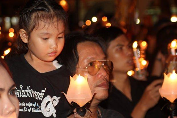 Ein Kind, das sich glücklich schätzen kann unter der Regentschaft von König Rama IX geboren zu sein.