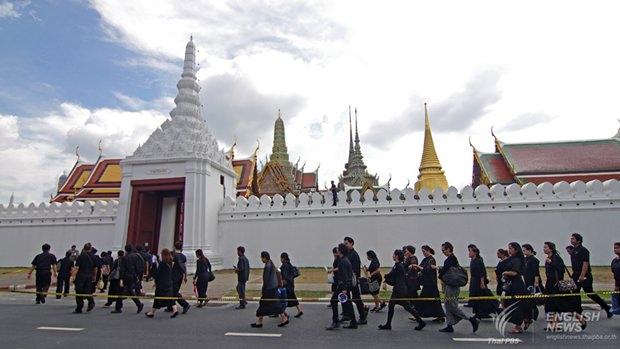 Der Grand Palace wird für Touristen und Trauernde am 1. und 2. Dezember geschlossen bleiben.