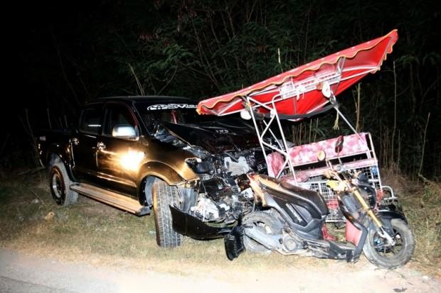 Auffahrunfall fordert zwei Tote und eine Verletzte