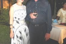 Jubilar Gerrit Niehaus mit seiner Gattin Anselma.