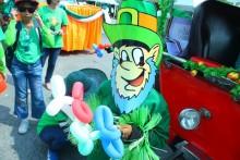 De St. Patrick als Comic Figur.