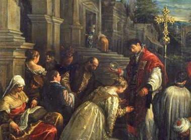 Der Heilige Valentin war bei Christen wie auch bei Heiden sehr angesehen. Trotzdem musste er den Märtyrertod erleiden.