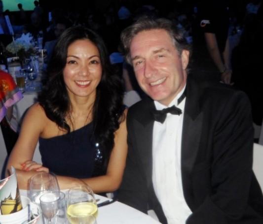 Österreichs Botschafter Enno Drofenik mit seiner Gattin Juri.