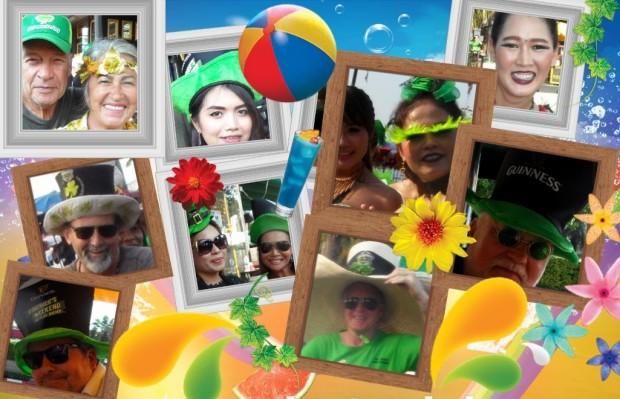 St. Patrick's Day Parade 2017 färbt Pattaya grün 2