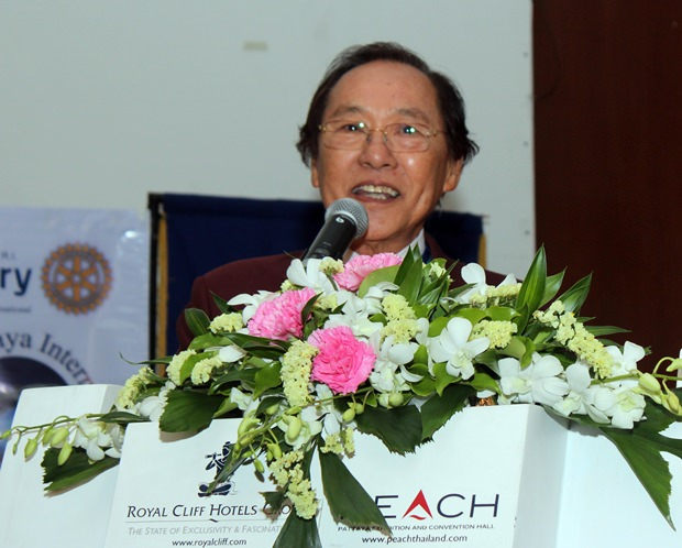PDG Thongchai Lortrakanon möchte dass Rotary noch größer wird.
