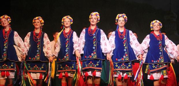 Traditioneller Tanz aus der Ukraine.