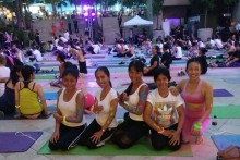 Über 500 Einwohner Pattayas nahmen an diesem Event teil.
