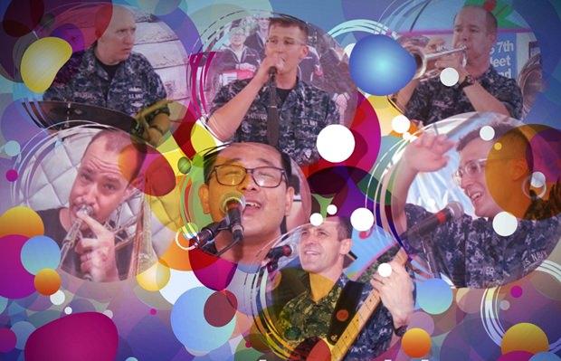 Supertolle Musik! (Collage)