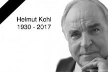 Deutschland trauert um Helmut Kohl