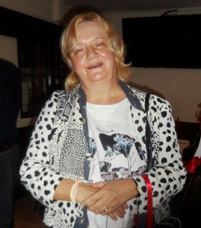 Das ist sie, unsere neue Botschafterin: Frau Dr. Eva Hager. Im Bild bedankt sie sich bei allen für die freundliche Aufnahme.