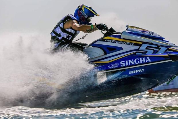 Teera Sretula wird Dritter bei der Pro Endurance.